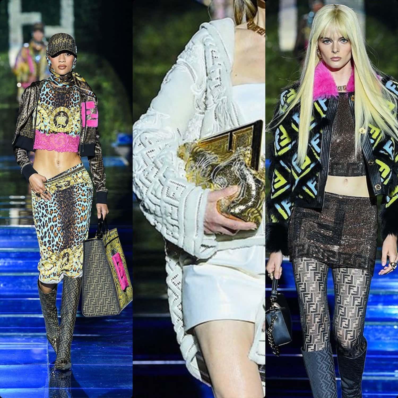 Fendi Versace 2021 - The Swap - Fendace. RUNWAY MAGAZINE ® Collections. RUNWAY NOW / RUNWAY NEW