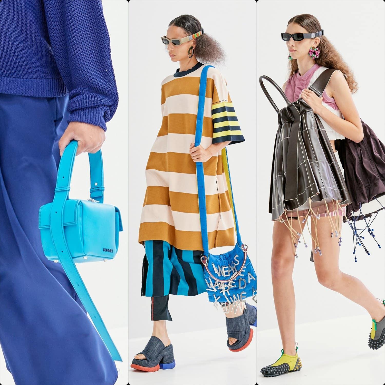 Sunnei Spring Summer 2022 Milan. RUNWAY MAGAZINE ® Collections. RUNWAY NOW / RUNWAY NEW