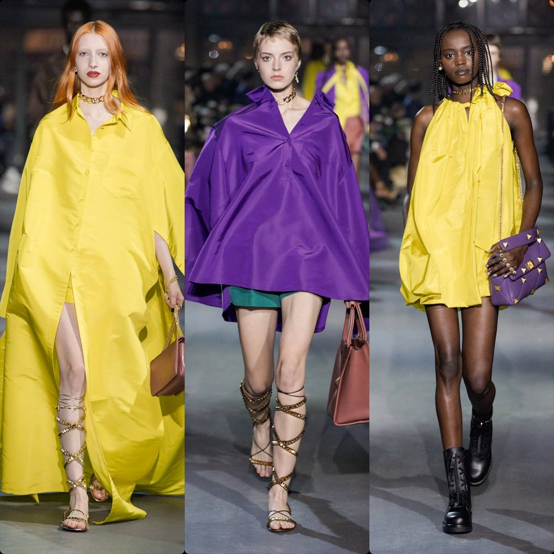 Valentino Spring Summer 2022 Paris. RUNWAY MAGAZINE ® Collections. RUNWAY NOW / RUNWAY NEW