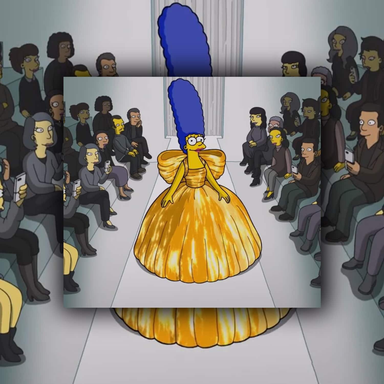 Balenciaga Simpsons Spring Summer 2022. RUNWAY MAGAZINE ® Collections. RUNWAY NOW / RUNWAY NEW