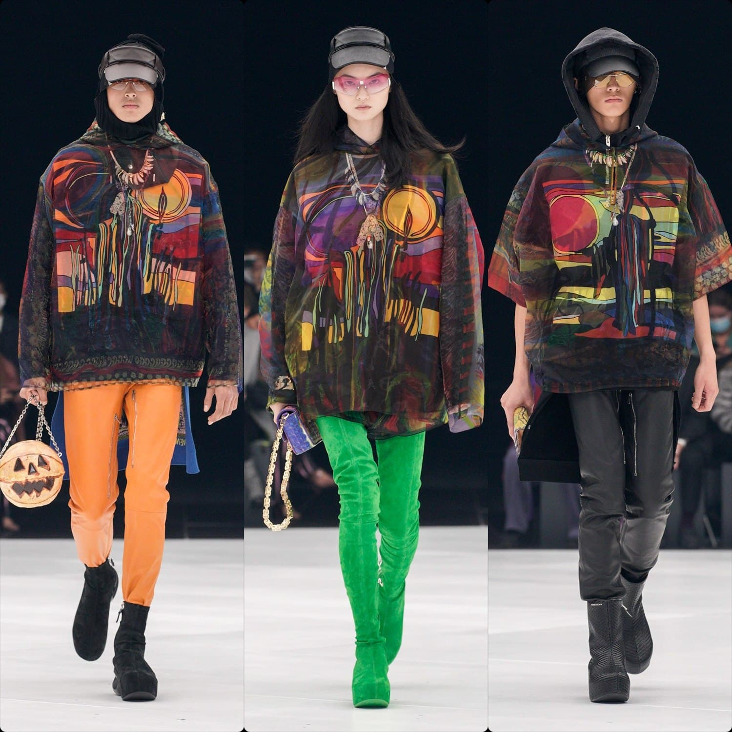 Givenchy Spring Summer 2022 Paris. RUNWAY MAGAZINE ® Collections. RUNWAY NOW / RUNWAY NEW