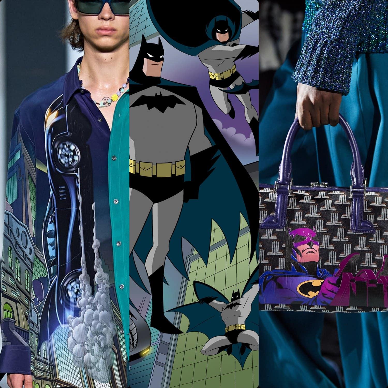 Lanvin Batman Spring Summer 2022. RUNWAY MAGAZINE ® Collections. RUNWAY NOW / RUNWAY NEW