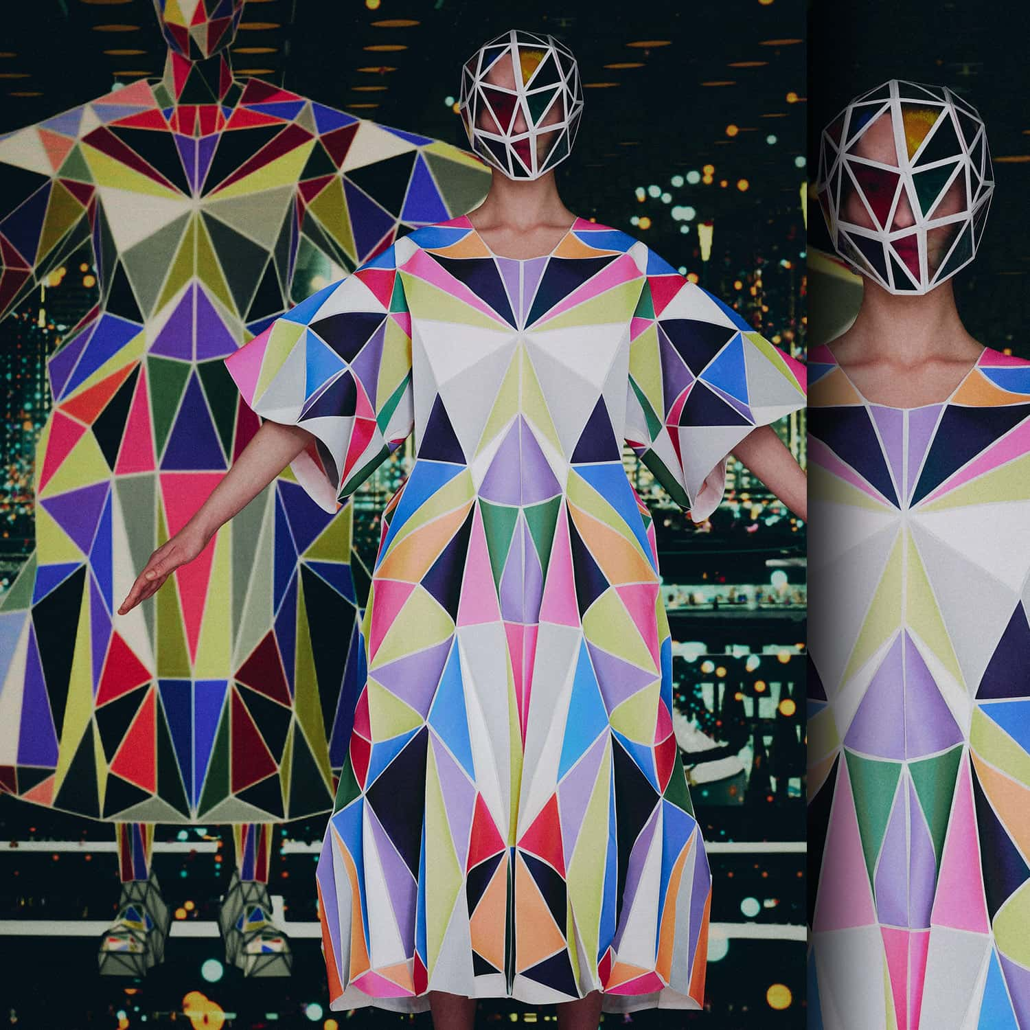 Anrealage Dimention at U NFT Spring Summer 2022. RUNWAY MAGAZINE ® Collections. RUNWAY NOW / RUNWAY NEW