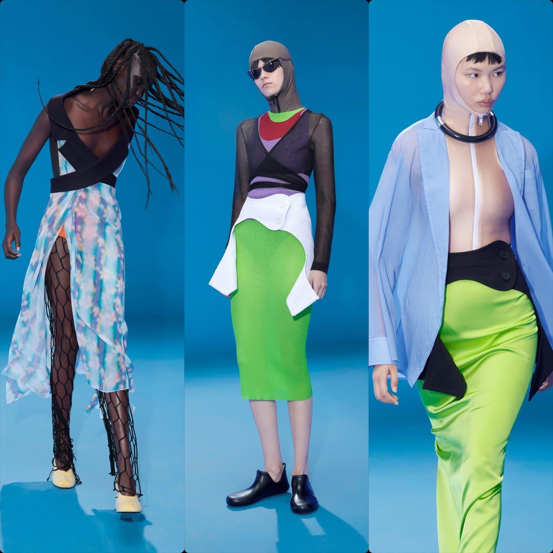 Nina Ricci 39 avenue Montaigne Paris - Nina Ricci Spring Summer 2022. RUNWAY MAGAZINE ® Collections. RUNWAY NOW / RUNWAY NEW