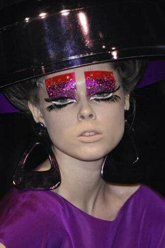 """JOHN GALLIANO for CHRISTIAN DIOR HAUTE COUTURE SPRING-SUMMER 2008. RUNWAY MAGAZINE ® Collections Special Selection """"Fashion Treasure"""". RUNWAY MAGAZINE ® Collections. RUNWAY NOW / RUNWAY NEW"""