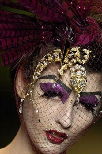 "JOHN GALLIANO for CHRISTIAN DIOR HAUTE COUTURE FALL-WINTER 2006-2007. RUNWAY MAGAZINE ® Collections Special Selection ""Fashion Treasure""."