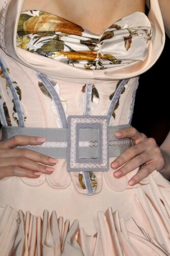 """JOHN GALLIANO for CHRISTIAN DIOR HAUTE COUTURE SPRING-SUMMER 2009. RUNWAY MAGAZINE ® Collections Special Selection """"Fashion Treasure"""". RUNWAY MAGAZINE ® Collections. RUNWAY NOW / RUNWAY NEW"""