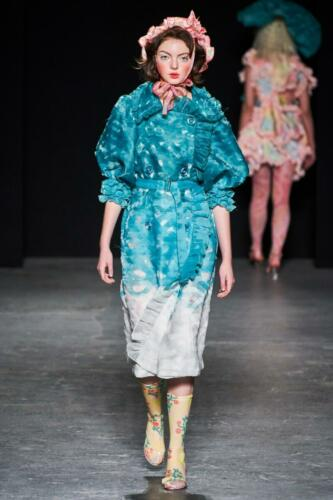 University of Westminster BA Ready-to-Wear Fall-Winter 2019-2020. RUNWAY MAGAZINE ® Collections. RUNWAY NOW / RUNWAY NEW