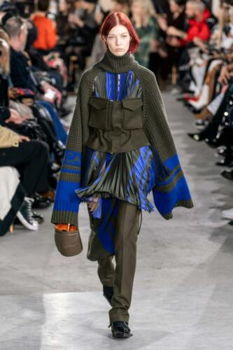 Sacai Ready-to-Wear Fall-Winter 2019-2020 by RUNWAY MAGAZINE