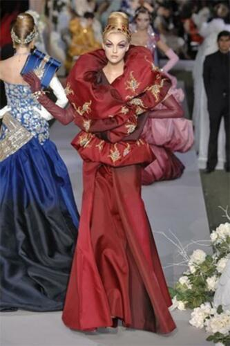 """JOHN GALLIANO for CHRISTIAN DIOR HAUTE COUTURE FALL-WINTER 2007-2008. RUNWAY MAGAZINE ® Collections Special Selection """"Fashion Treasure"""". RUNWAY MAGAZINE ® Collections. RUNWAY NOW / RUNWAY NEW"""