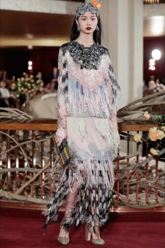 "DOLCE & GABBANA ALTA MODA SPRING-SUMMER 2018 New York. RUNWAY MAGAZINE ® Collections Special Selection ""Fashion Treasure""."