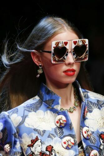 "DOLCE & GABBANA READY-TO-WEAR SPRING-SUMMER 2018. Milan Fashion Week. RUNWAY MAGAZINE ® Collections Special Selection ""Fashion Treasure"". RUNWAY MAGAZINE ® Collections. RUNWAY NOW / RUNWAY NEW"