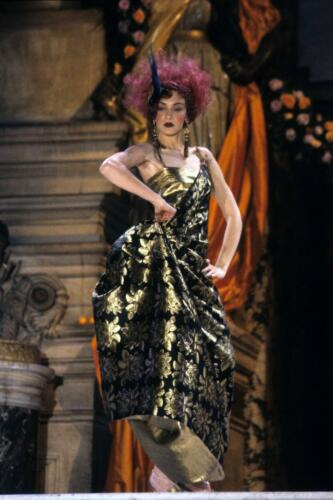 """JOHN GALLIANO for CHRISTIAN DIOR HAUTE COUTURE SPRING-SUMMER 1998. RUNWAY MAGAZINE ® Collections Special Selection """"Fashion Treasure"""". RUNWAY MAGAZINE ® Collections. RUNWAY NOW / RUNWAY NEW"""