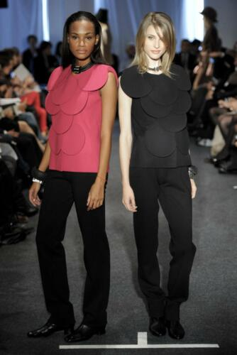 "PIERRE CARDIN READY-TO-WEAR SPRING-SUMMER 2011. RUNWAY MAGAZINE ® Collections Special Selection ""Fashion Treasure"". RUNWAY MAGAZINE ® Collections. RUNWAY NOW / RUNWAY NEW"