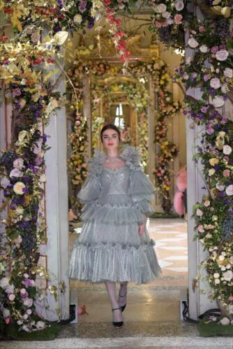 "DOLCE & GABBANA ALTA MODA SPRING-SUMMER 2019. RUNWAY MAGAZINE ® Collections Special Selection ""Fashion Treasure""."