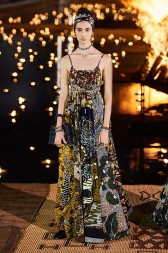 Christian Dior Cruise 2020 Marrakesh. Afro-Dior Bo-bo Couture House. RUNWAY MAGAZINE ® Collections. RUNWAY NOW / RUNWAY NEW