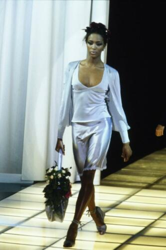 "VERSACE READY-TO-WEAR SPRING-SUMMER 1997. RUNWAY MAGAZINE ® Collections Special Selection ""Fashion Treasure""."